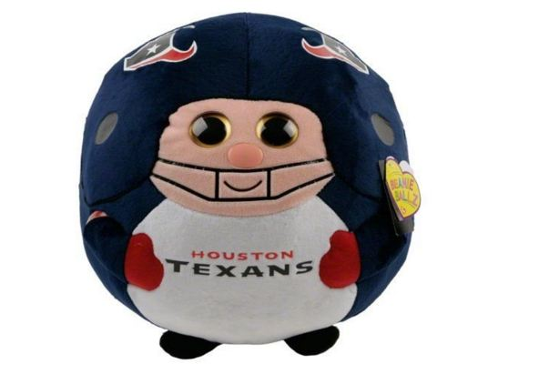 Houston Texans Ty Beanie Ballz - Click Image to Close