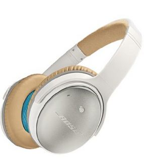 Bose QuietComfort 25 Noise Cancelling headphones - White