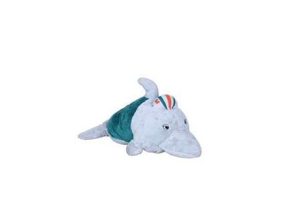 Miami Dolphins Sport Pillow Pet Mini Mascot Plush Toy