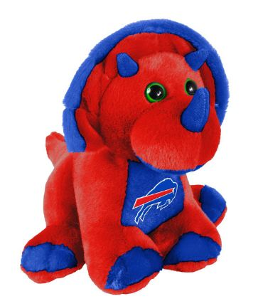"Buffalo Bills 8"" Triceratops"