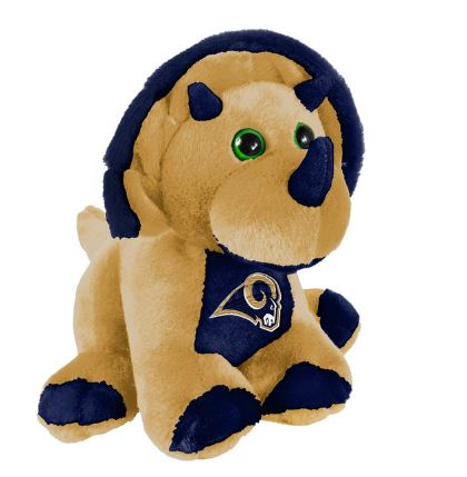 "Los Angeles Rams 8"" Triceratops"