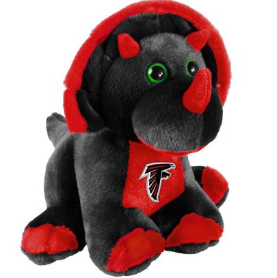 "Atlanta Falcons 8"" Triceratops"