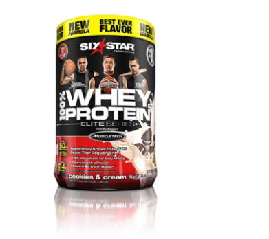 Six Star Pro Elite Series Whey Protein Powder (Choose Flavor)