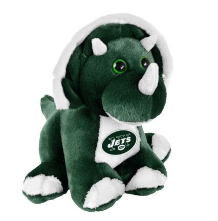 "New York Jets 8"" Triceratops"