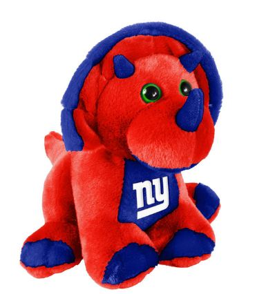 "New York Giants 8"" Triceratops"