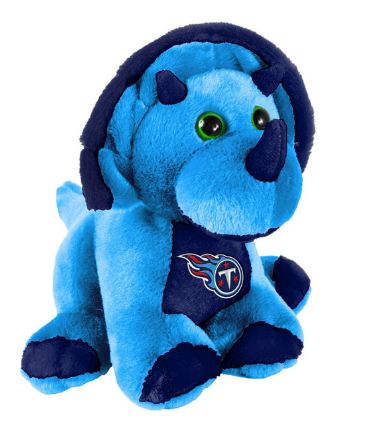 "Tennessee Titans 8"" Triceratops"