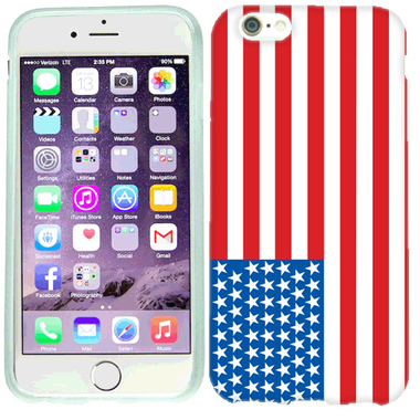 APPLE IPHONE 6 PLUS AMERICAN FLAG CASE COVER