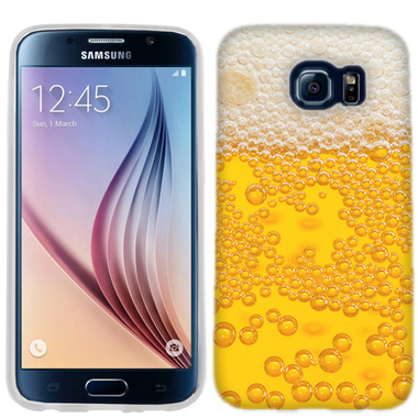 SAMSUNG GALAXY S6 EDGE BEER DRINK CASE COVER