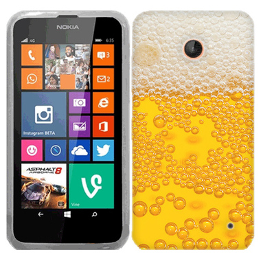 NOKIA LUMIA 630 635 BEER DRINK CASE COVER