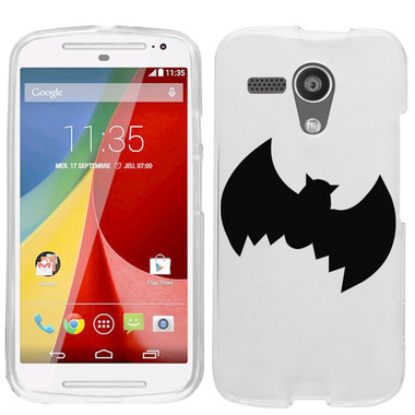 MOTOROLA MOTO G BLACK BAT CASE COVER