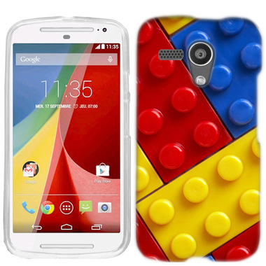 MOTOROLA MOTO G BLOCKS CASE COVER