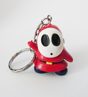 Shy Guy from Super Mario Brother's 2 KeyChain