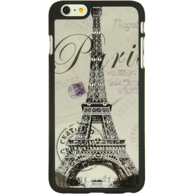 PARIS DIAMOND APPLE IPHONE 6 PLUS PROTECTIVE TPU GEL SOFT COVER