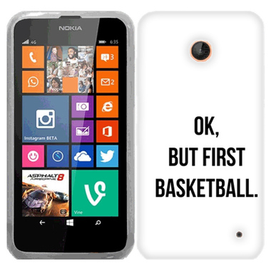 NOKIA LUMIA 630 635 FIRST BASKETBALL CASE COVER