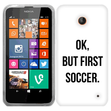 NOKIA LUMIA 630 635 FIRST SOCCER CASE COVER