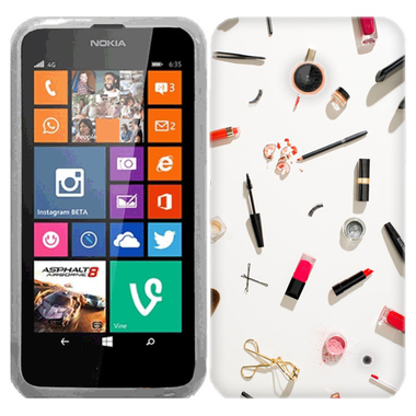NOKIA LUMIA 630 635 MAKEUP CASE COVER
