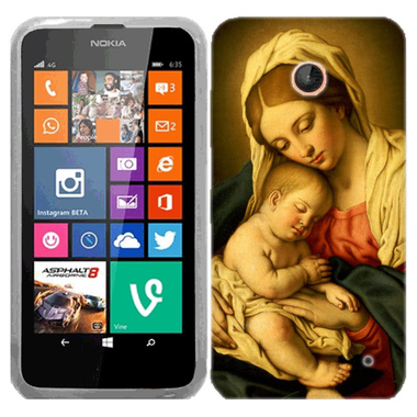 NOKIA LUMIA 630 635 MOTHER & SON CASE COVER