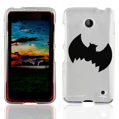 NOKIA LUMIA 630 635 BLACK BAT CASE COVER