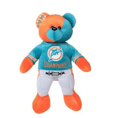 Miami Dolphins Super Bowl VIII Champions Thematic Bear