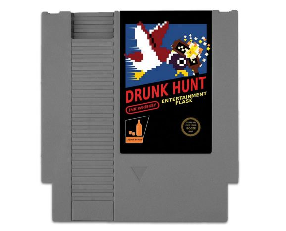 Duck Hunt Flask - Drunk Hunt