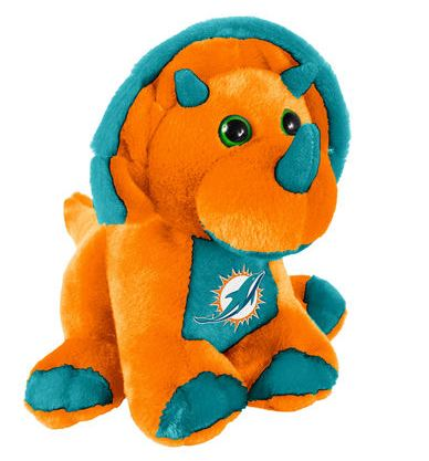 "Miami Dolphins 8"" Triceratops"