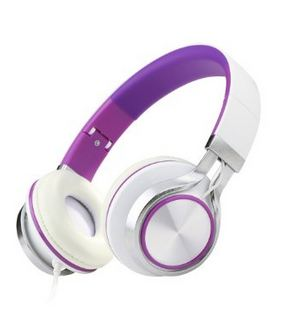 ECOOPRO® Lightweight Portable Over Ear Headphone