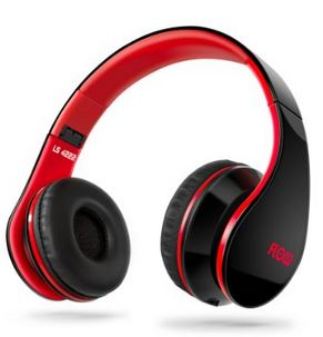 Sentey® Headphone Headset Flow (Black/red)
