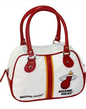 Miami Heat Bowler Bag Purse