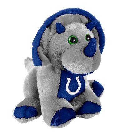 "Indianapolis Colts 8"" Triceratops"
