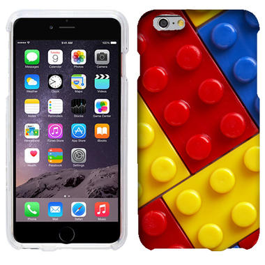 APPLE IPHONE 6 PLUS BLOCKS CASE COVER
