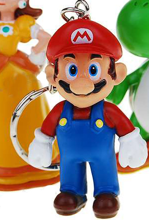 Super Mario Brother's Keychain