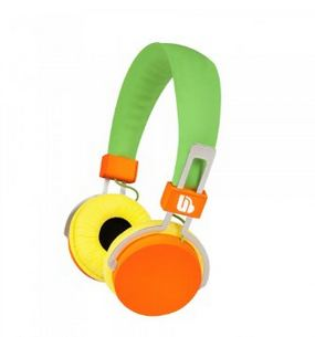 Urban Beatz M-HL770 Hi-Light Power Headphones, Green/Orange/Yell