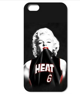 Marilyn Monroe Miami Heat Hard Case iphone 6 Plus
