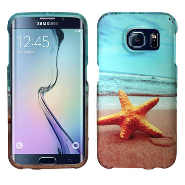 SAMSUNG GALAXY S6 EDGE STARFISH SNAP ON HARD CASE COVER