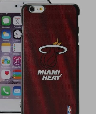 Miami Heat iPhone 6 Plus Jersey Case