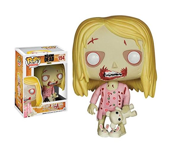 FunKo POP TV: Walking Dead - Teddy Bear Girl Toy Figure