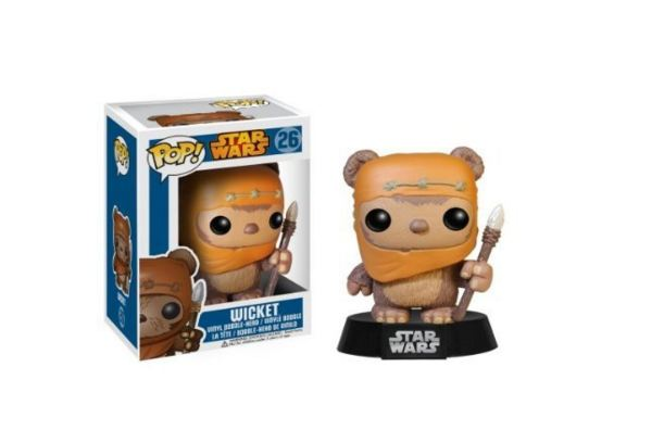 Funko POP Star Wars: Wicket Bobble Figure